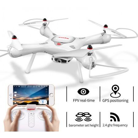 Dron RC SYMA X25 PRO Follow Me z Kamerą Nawigacją GPS - VivoSklep.pl