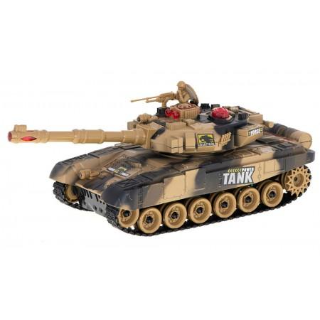Czołg RC 9995 Big War Tank Duży Zdalnie Sterowany 2,4 Ghz Pustynny Piaskowy - VivoSklep.pl