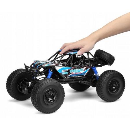 Samochód RC CRAWLER CLIMBING CAR Sterowany Terenowy Duży 48CM 1:10 Niebieski
