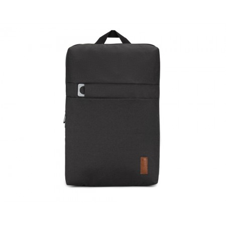 Plecak Męski SOLIER SV12 BLACK na Laptopa Minimalistyczny Elegancki Czarny – VivoSklep.pl