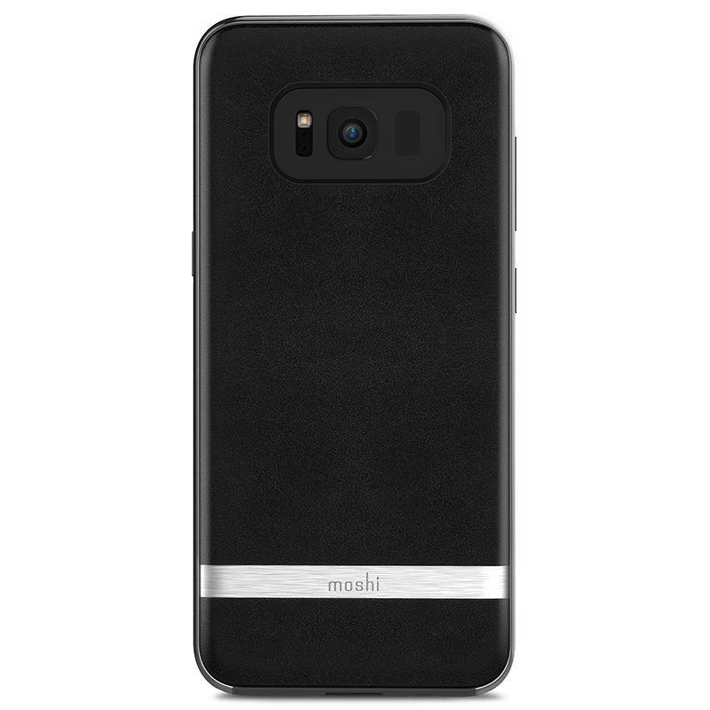 Etui Moshi Napa Samsung Galaxy S8 Onyx Black - VivoSklep.pl