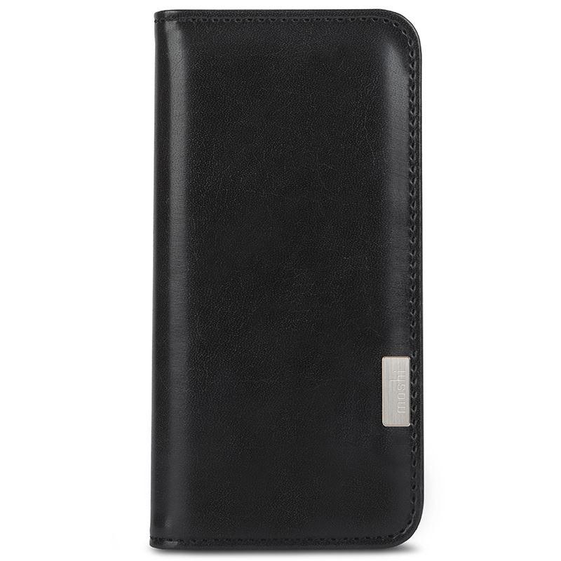 Etui Moshi Overture do Samsung Galaxy S8 z Kieszeniami Czarne Charcoal Black - VivoSklep.pl