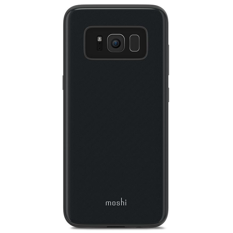 Etui Moshi Tycho do Samsung Galaxy S8 Case Czarne Mariana Black - VivoSklep.pl