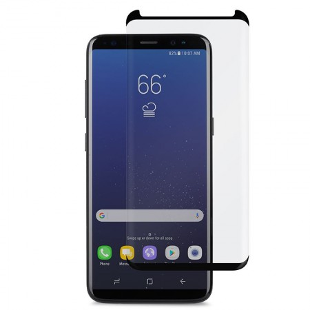 Szkło Hartowane Moshi IonGlass Black Samsung Galaxy S8