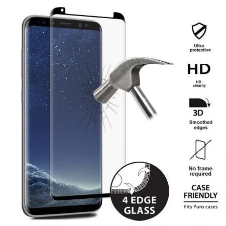 Szkło Hartowane Puro Premium Case Friendly Samsung Galaxy S8 - VivoSklep.pl