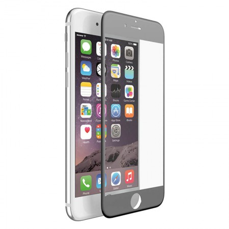 Szkło Hartowane X-Doria ARC Guard iPhone 7 Plus Czarna Ramka - VivoSklep.pl
