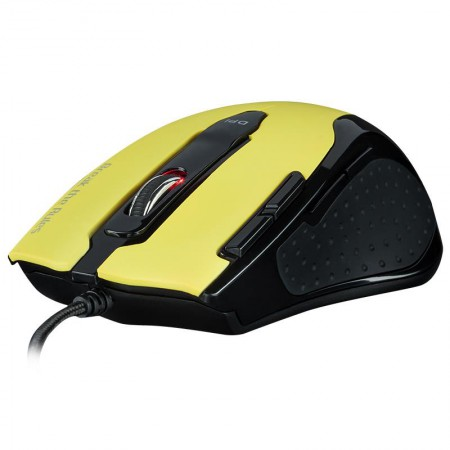 Mysz Tesoro Shrike v2 Yellow Edition dla Graczy Laserowa 8200 DPI - VivoSklep.pl