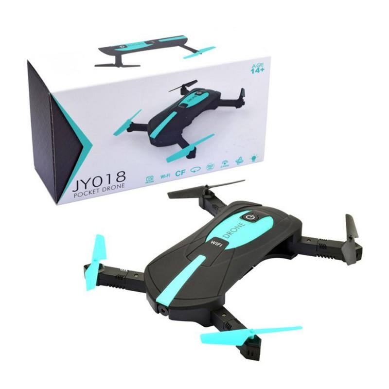 Dron JY018 Składany Mini RC Selfie Quadrocopter z Kamerą Wi Fi HD 360 - VivoSklep.pl