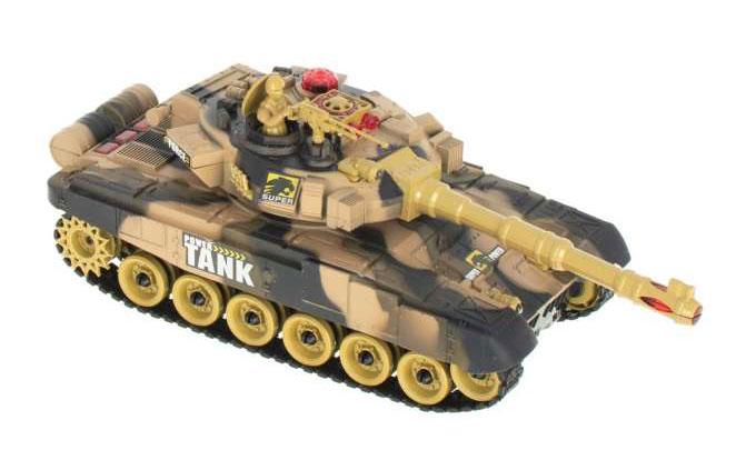 Czołg RC 9993 War Tank Zdalnie Sterowany Na Podczerwień 2,4Ghz Piaskowy Pustynny - VivoSklep.pl 8