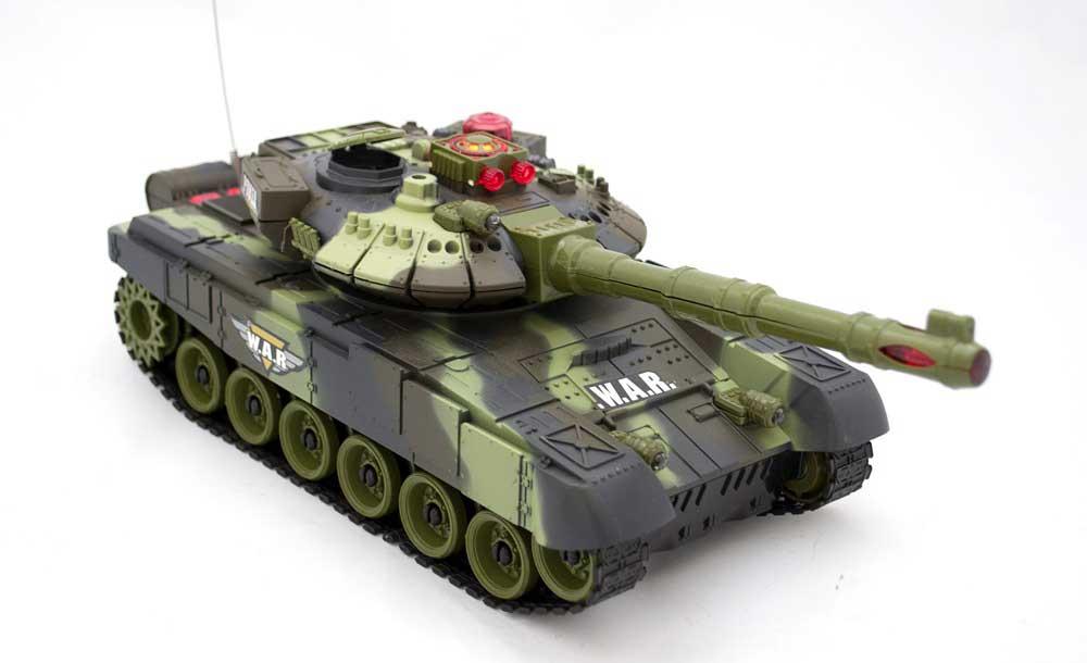 Czołg RC 9993 War Tank Zdalnie Sterowany Na Podczerwień 2,4Ghz Zielony Kamuflaż Leśny - VivoSklep.pl 11