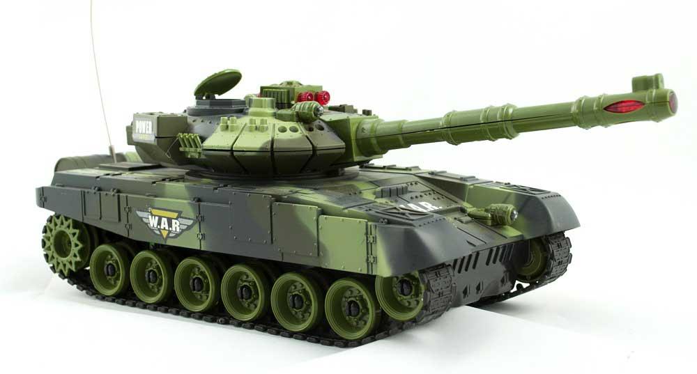 Czołg RC 9993 War Tank Zdalnie Sterowany Na Podczerwień 2,4Ghz Zielony Kamuflaż Leśny - VivoSklep.pl 15