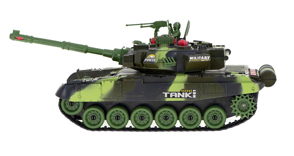 Czołg RC 9993 War Tank Zdalnie Sterowany Na Podczerwień 2,4Ghz Zielony Kamuflaż Leśny - VivoSklep.pl 5