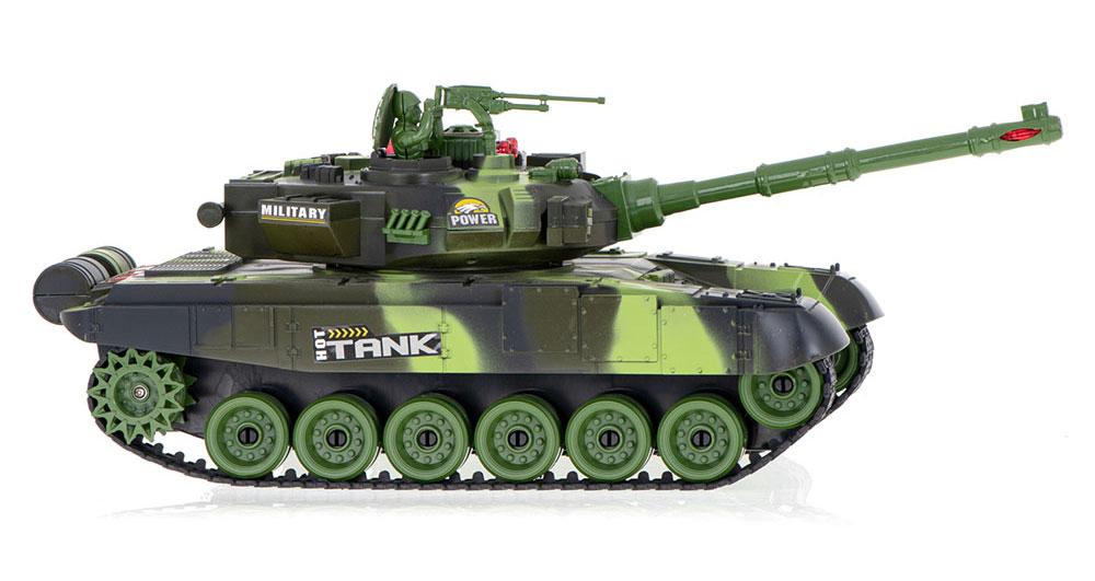Czołg RC 9993 War Tank Zdalnie Sterowany Na Podczerwień 2,4Ghz Zielony Kamuflaż Leśny - VivoSklep.pl 3