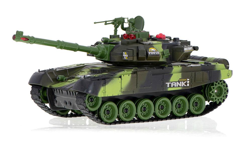 Czołg RC 9993 War Tank Zdalnie Sterowany Na Podczerwień 2,4Ghz Zielony Kamuflaż Leśny - VivoSklep.pl 2