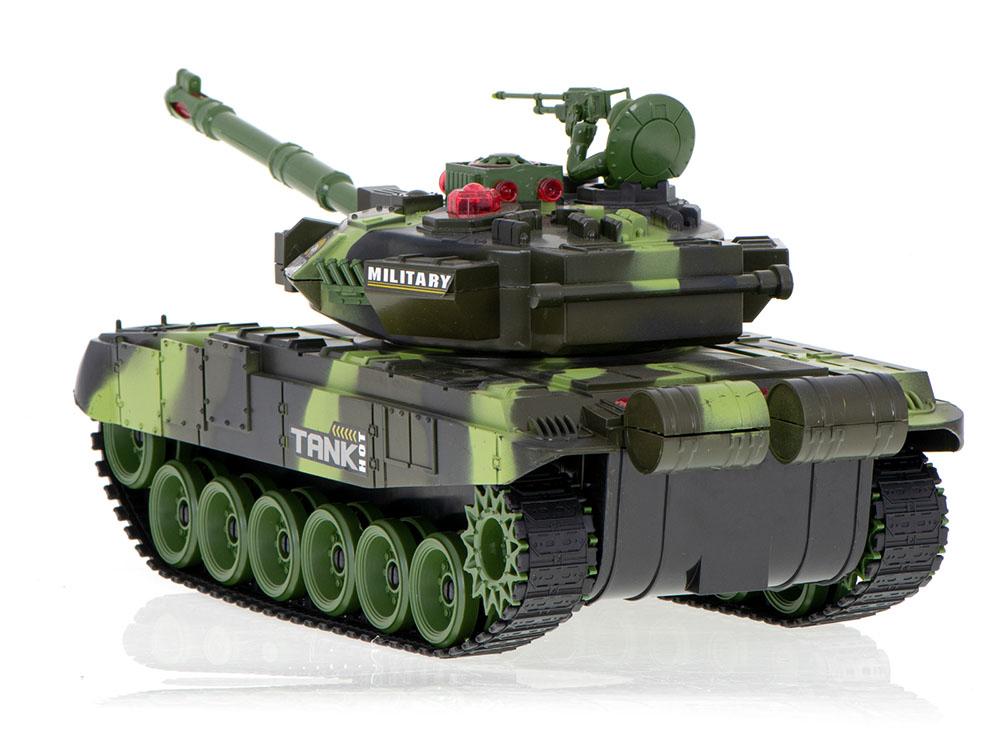 Czołg RC 9993 War Tank Zdalnie Sterowany Na Podczerwień 2,4Ghz Zielony Kamuflaż Leśny - VivoSklep.pl 4