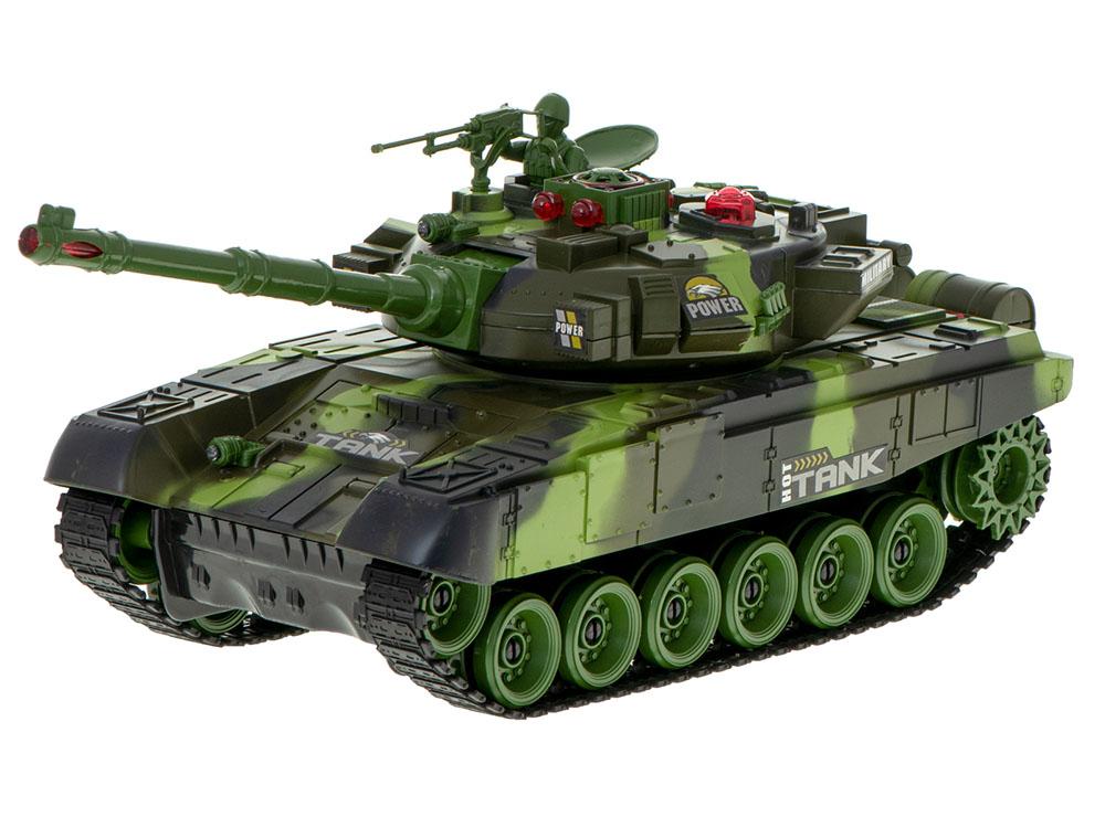 Czołg RC 9995 Big War Tank Duży Zdalnie Sterowany 2,4 Ghz Leśny Zielony - VivoSklep.pl 2