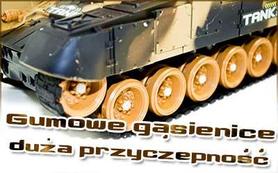Czołg RC 9995 Big War Tank Duży Zdalnie Sterowany 2,4 Ghz Leśny Zielony - VivoSklep.pl 9