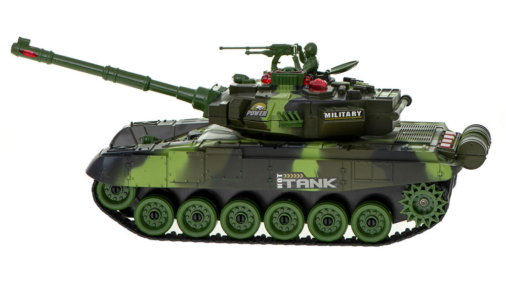 Czołg RC 9995 Big War Tank Duży Zdalnie Sterowany 2,4 Ghz Leśny Zielony - VivoSklep.pl 15