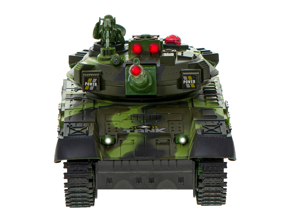 Czołg RC 9995 Big War Tank Duży Zdalnie Sterowany 2,4 Ghz Leśny Zielony - VivoSklep.pl 3