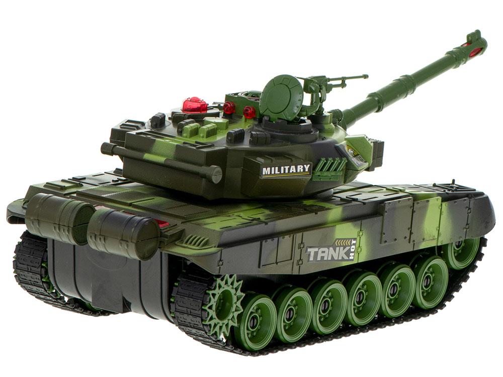 Czołg RC 9995 Big War Tank Duży Zdalnie Sterowany 2,4 Ghz Leśny Zielony - VivoSklep.pl 4