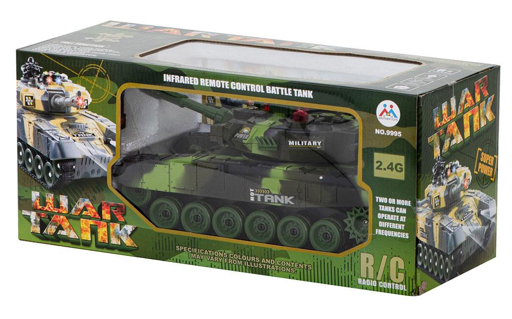 Czołg RC 9995 Big War Tank Duży Zdalnie Sterowany 2,4 Ghz Leśny Zielony - VivoSklep.pl 16