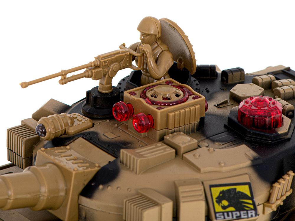 Czołg RC 9995 Big War Tank Duży Zdalnie Sterowany 2,4 Ghz Leśny Zielony - VivoSklep.pl 10