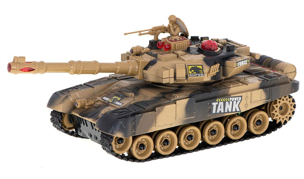 Czołg RC 9995 Big War Tank Duży Zdalnie Sterowany 2,4 Ghz Pustynny Piaskowy - VivoSklep.pl 3