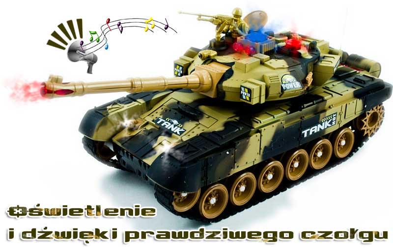 Czołg RC 9995 Big War Tank Duży Zdalnie Sterowany 2,4 Ghz Pustynny Piaskowy - VivoSklep.pl 8