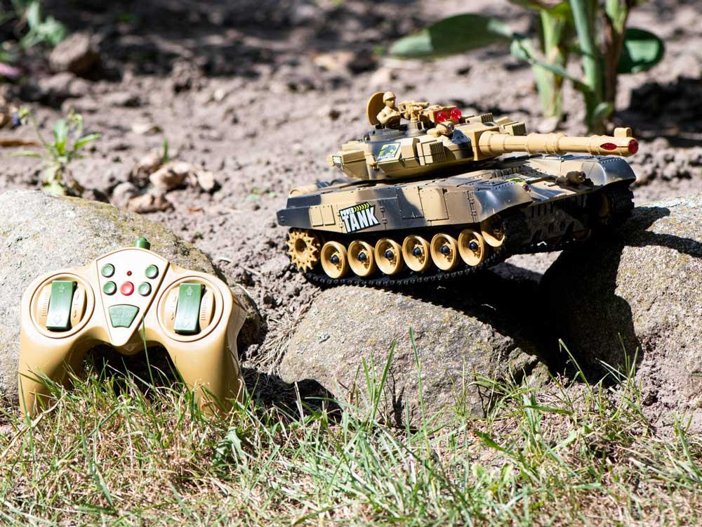 Czołg RC 9995 Big War Tank Duży Zdalnie Sterowany 2,4 Ghz Pustynny Piaskowy - VivoSklep.pl 14