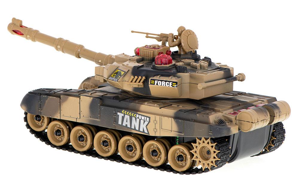 Czołg RC 9995 Big War Tank Duży Zdalnie Sterowany 2,4 Ghz Pustynny Piaskowy - VivoSklep.pl 7