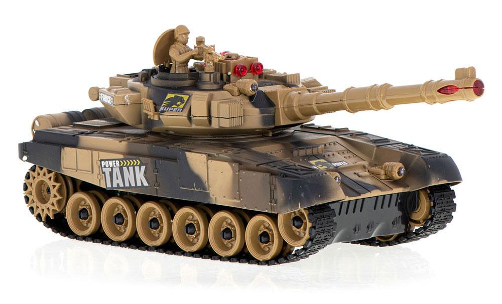 Czołg RC 9995 Big War Tank Duży Zdalnie Sterowany 2,4 Ghz Pustynny Piaskowy - VivoSklep.pl 1