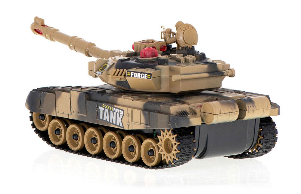 Czołg RC 9995 Big War Tank Duży Zdalnie Sterowany 2,4 Ghz Pustynny Piaskowy - VivoSklep.pl 2