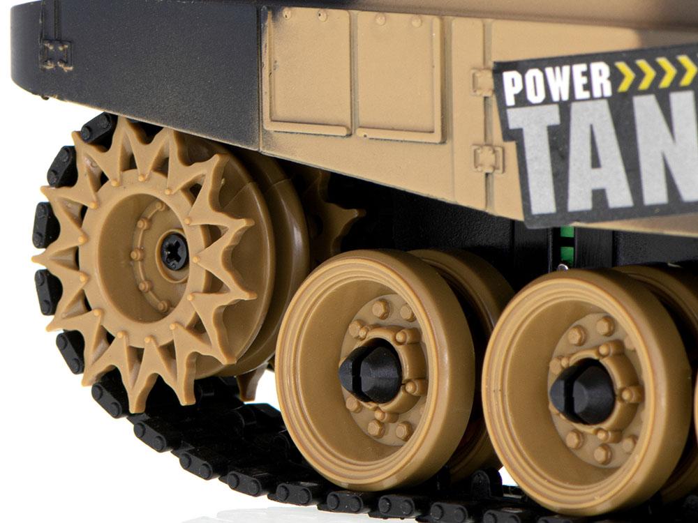 Czołg RC 9995 Big War Tank Duży Zdalnie Sterowany 2,4 Ghz Pustynny Piaskowy - VivoSklep.pl 4