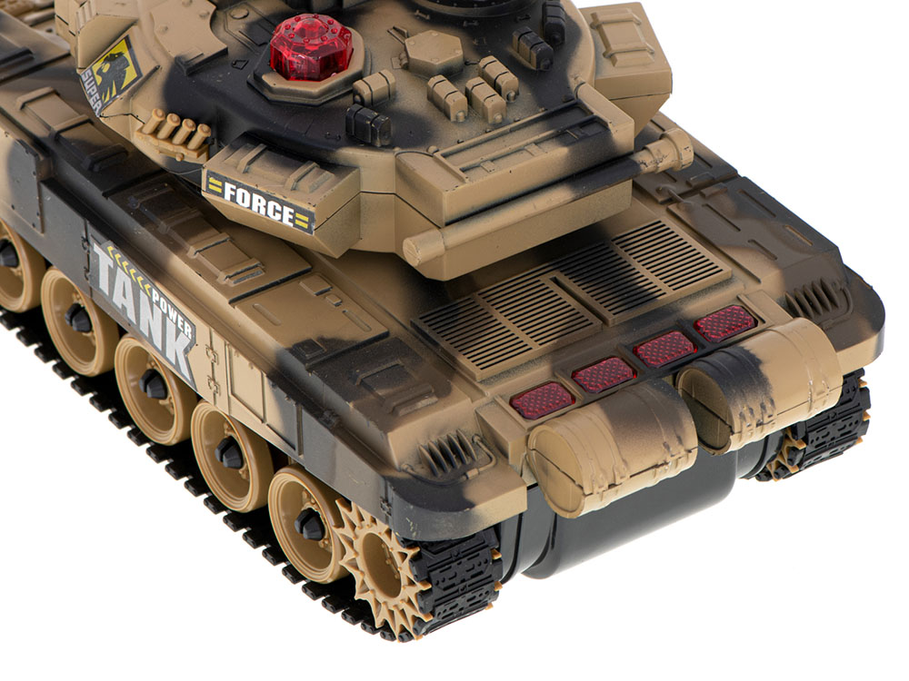 Czołg RC 9995 Big War Tank Duży Zdalnie Sterowany 2,4 Ghz Pustynny Piaskowy - VivoSklep.pl 5