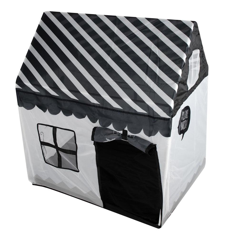 Domek dla Dzieci Duży Materiałowy Namiot do Domu Pokoju Ogrodu Szary 120 CM – VivoSklep.pl 3