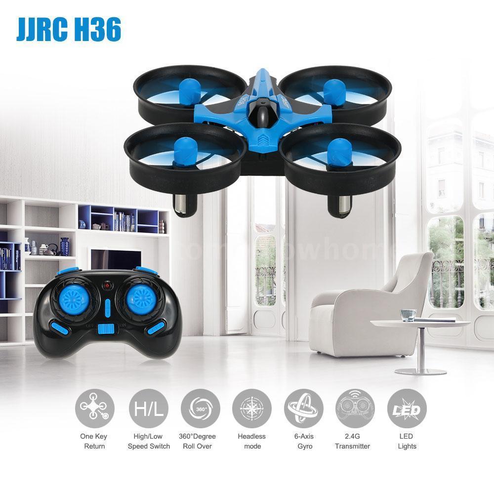 Dron RC JJRC H36 MINI Stabilizator Autopowrót Axis Headless Czarny - VivoSklep.pl 3