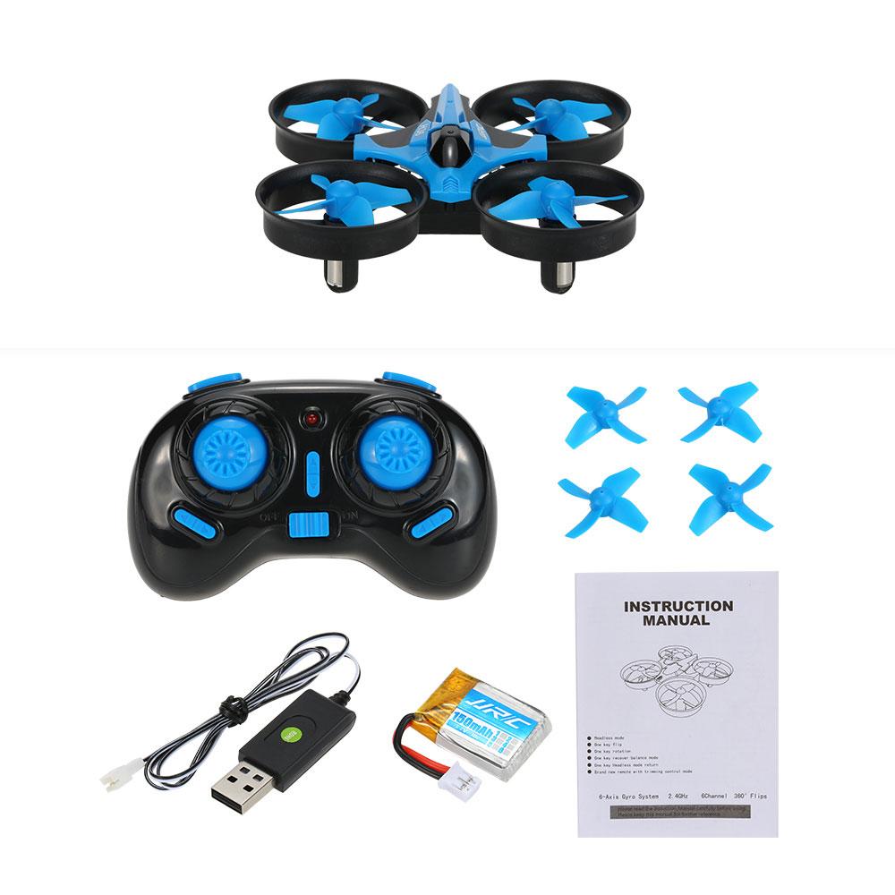 Dron RC JJRC H36 MINI Stabilizator Autopowrót Axis Headless Czarny - VivoSklep.pl 13