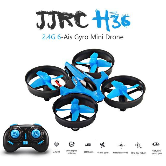 Dron RC JJRC H36 MINI Stabilizator Autopowrót Axis Headless Niebieski - VivoSklep.pl 13