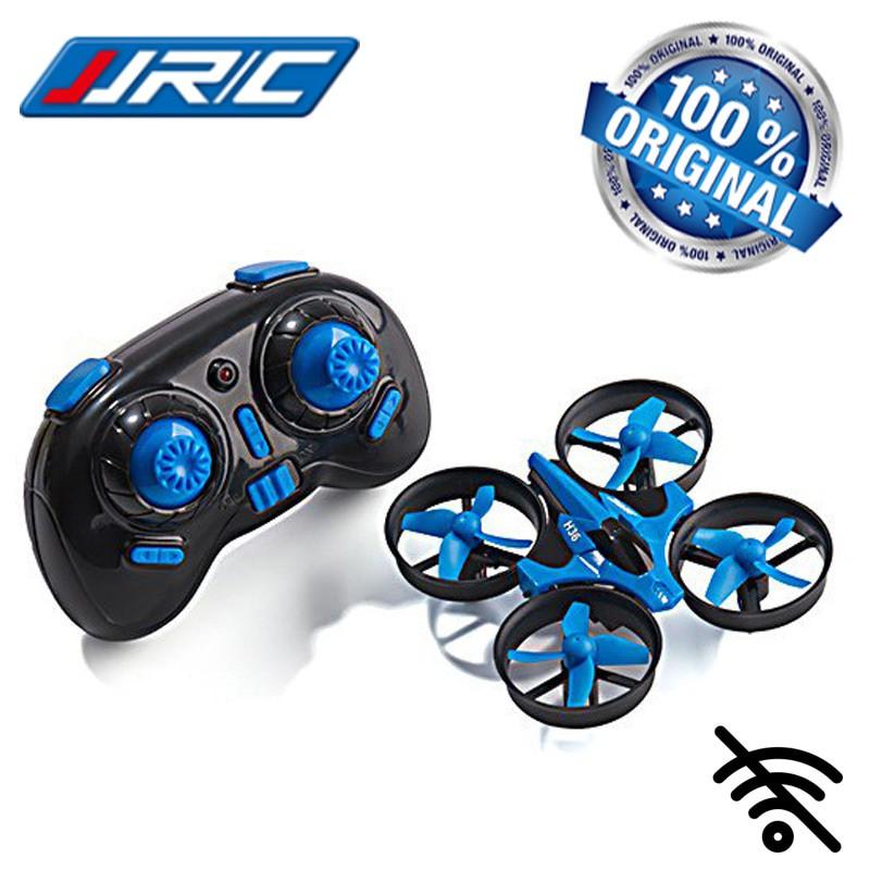 Dron RC JJRC H36 MINI Stabilizator Autopowrót Axis Headless Niebieski - VivoSklep.pl 7