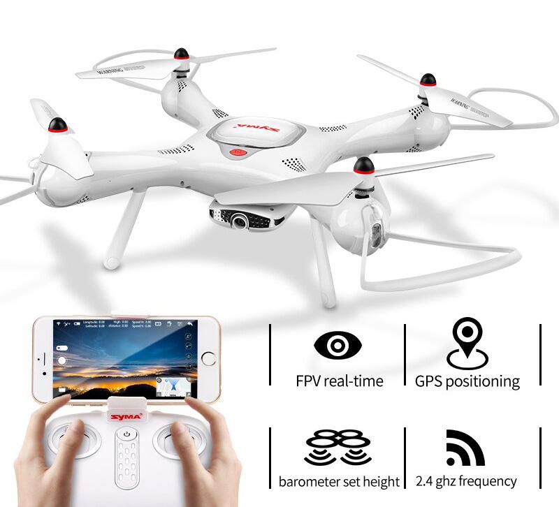 Dron RC SYMA X25 PRO Follow Me z Kamerą Nawigacją GPS - VivoSklep.pl 1