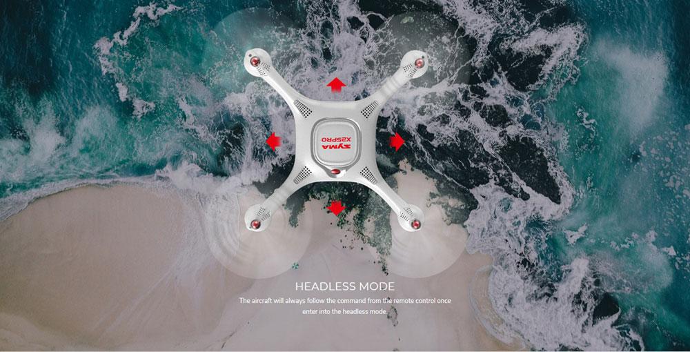 Dron RC SYMA X25 PRO Follow Me z Kamerą Nawigacją GPS - VivoSklep.pl 5