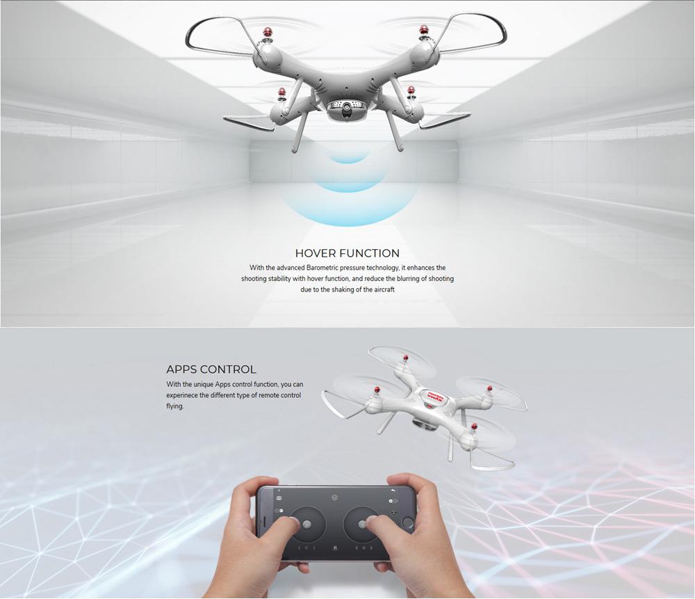 Dron RC SYMA X25 PRO Follow Me z Kamerą Nawigacją GPS - VivoSklep.pl 9