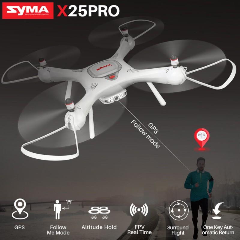 Dron RC SYMA X25 PRO Follow Me z Kamerą Nawigacją GPS - VivoSklep.pl 12