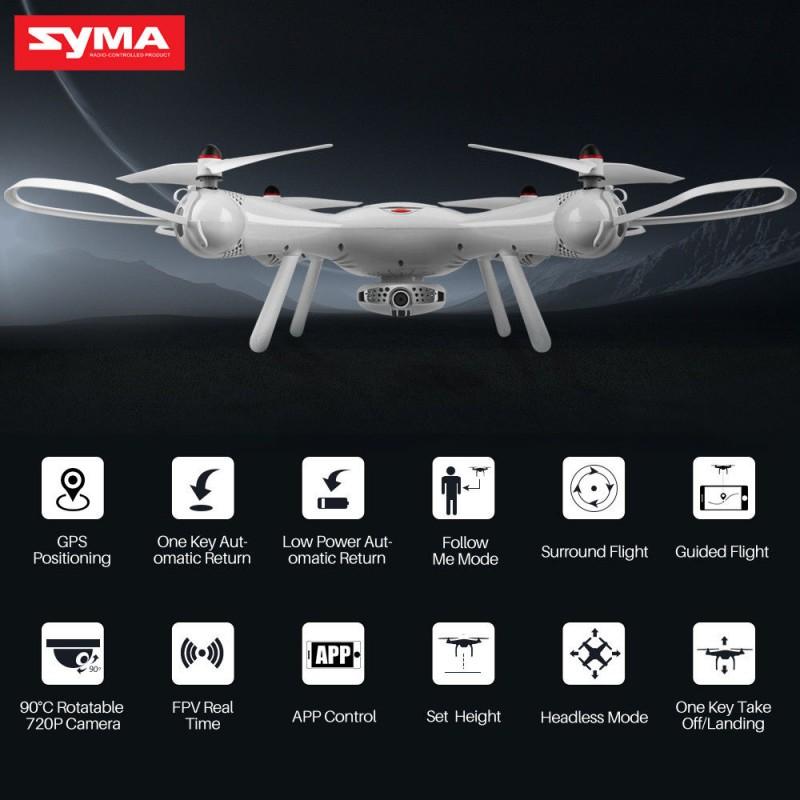 Dron RC SYMA X25 PRO Follow Me z Kamerą Nawigacją GPS - VivoSklep.pl 11