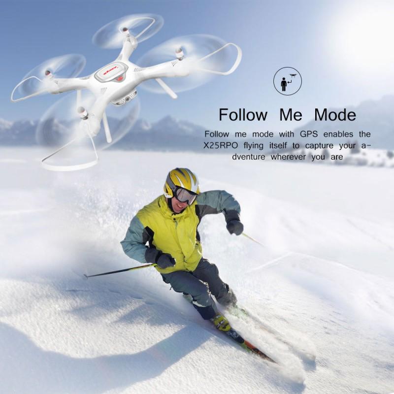 Dron RC SYMA X25 PRO Follow Me z Kamerą Nawigacją GPS - VivoSklep.pl 16