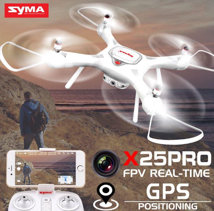 Dron RC SYMA X25 PRO Follow Me z Kamerą Nawigacją GPS - VivoSklep.pl 17