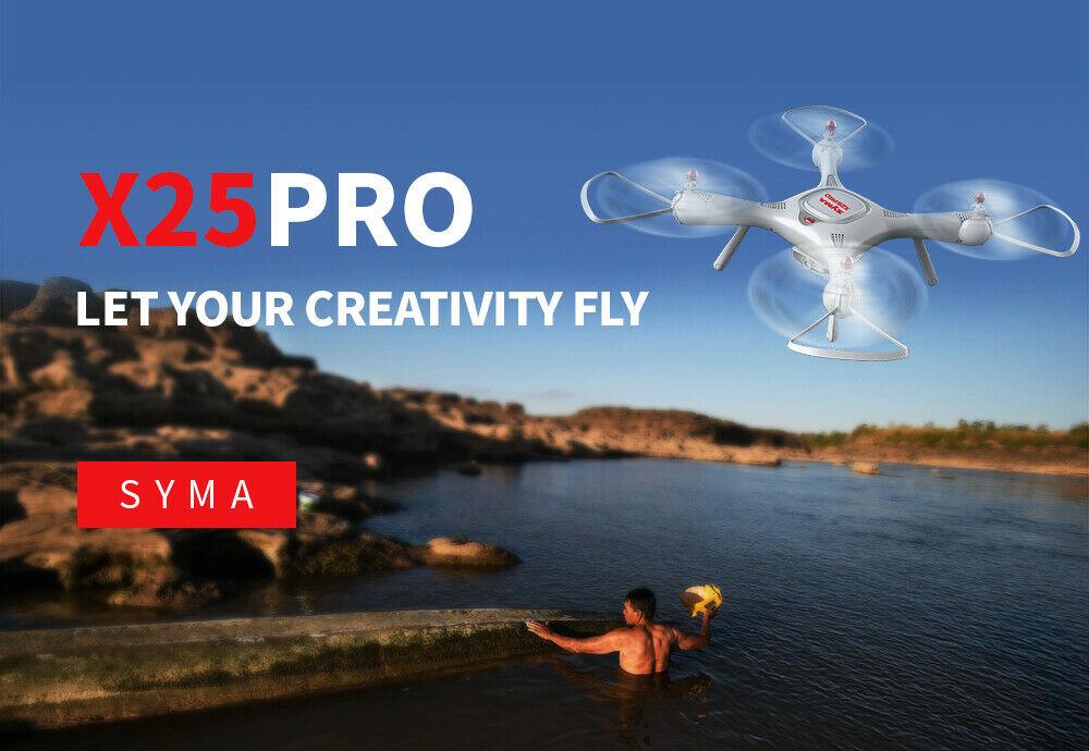 Dron RC SYMA X25 PRO Follow Me z Kamerą Nawigacją GPS - VivoSklep.pl 4