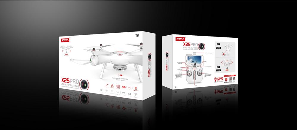Dron RC SYMA X25 PRO Follow Me z Kamerą Nawigacją GPS - VivoSklep.pl 18