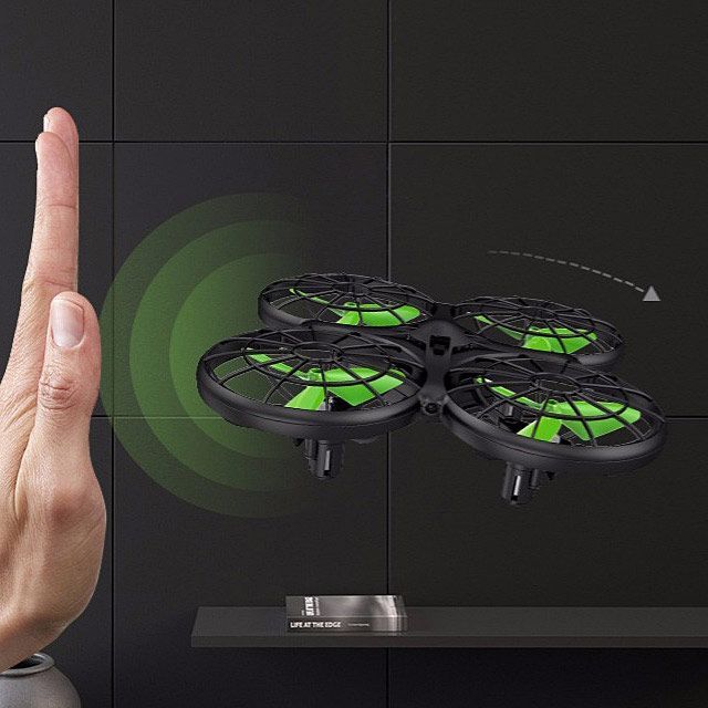 Dron RC SYMA X26 Quadrocopter Zwis Headless Auto Start Omijanie Przeszkód LED - VivoSklep.pl 11