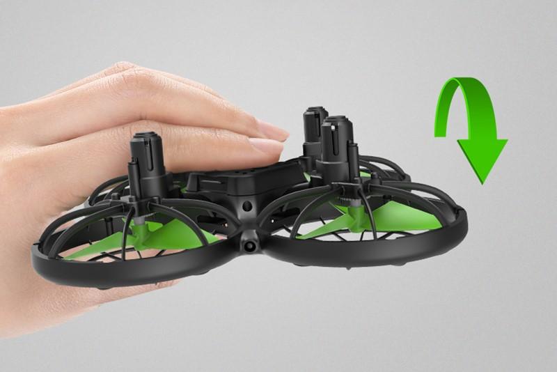 Dron RC SYMA X26 Quadrocopter Zwis Headless Auto Start Omijanie Przeszkód LED - VivoSklep.pl 12